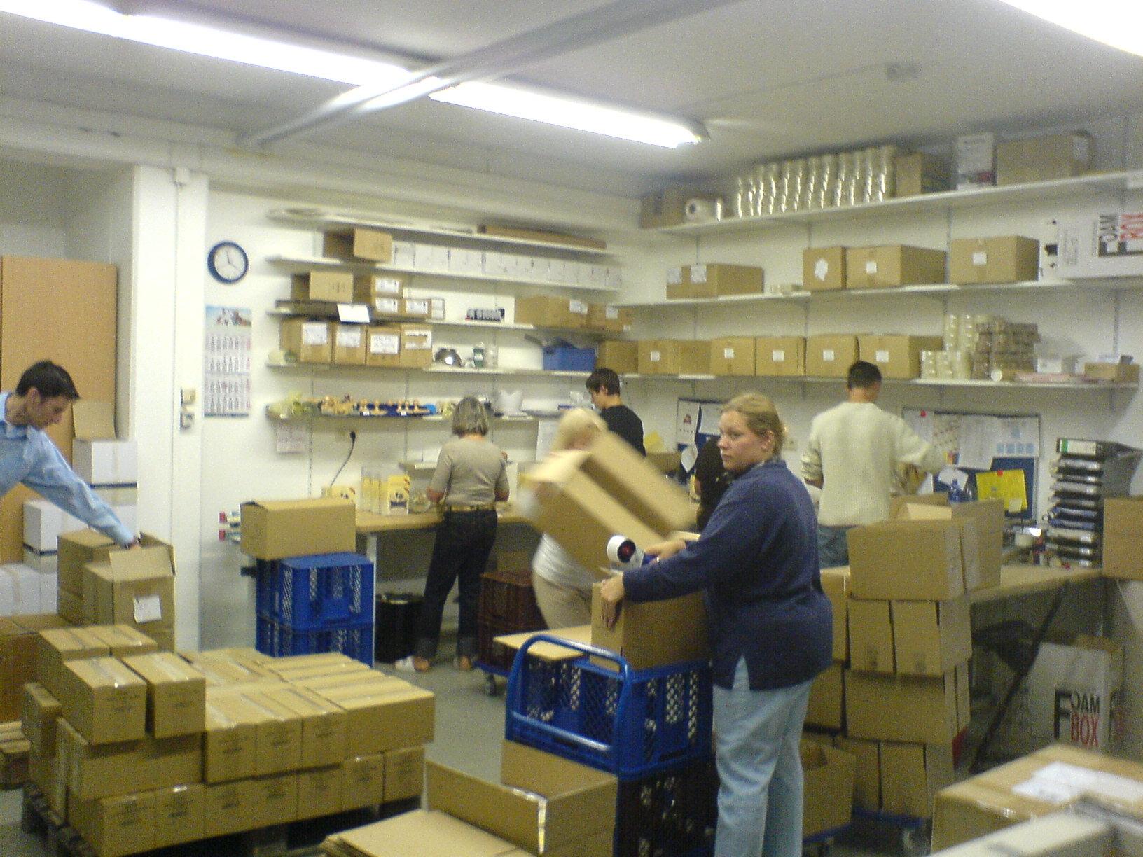 Jeffo Verpackungs- und Logisitikzentrum