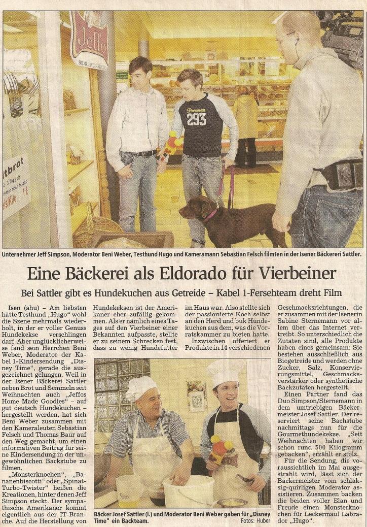 Presseschau Dorfener Anzeiger 17.03.2005