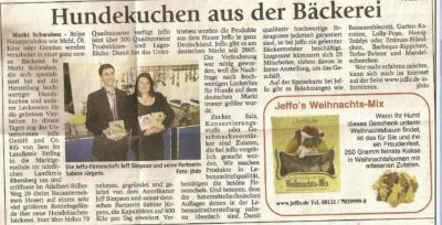 Presseschau Ebersberger Zeitung 30.11.2007