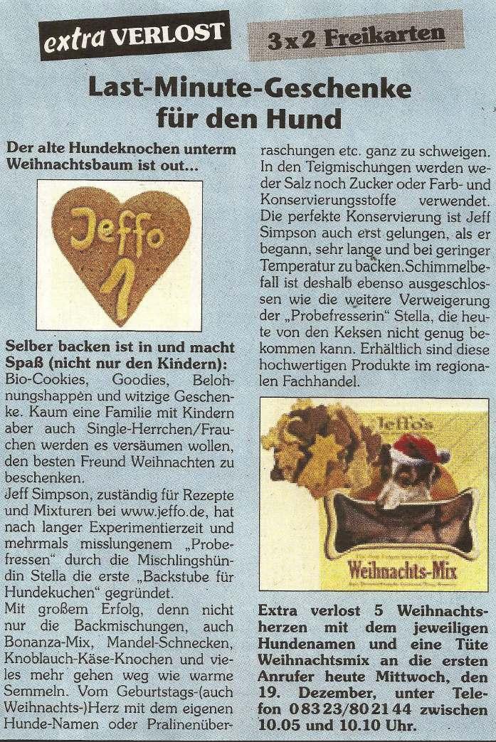 Presseschau Extra Verlosungsaktion