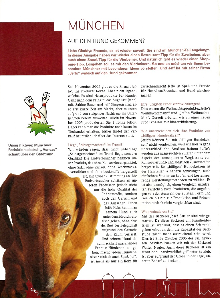 Presseschau Gladdys S56 18-2006