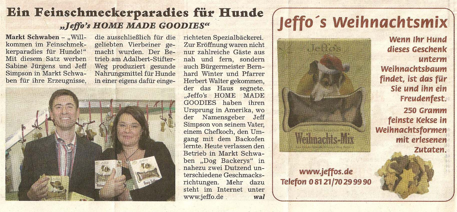 Presseschau Hallo Falke 21.11.2007
