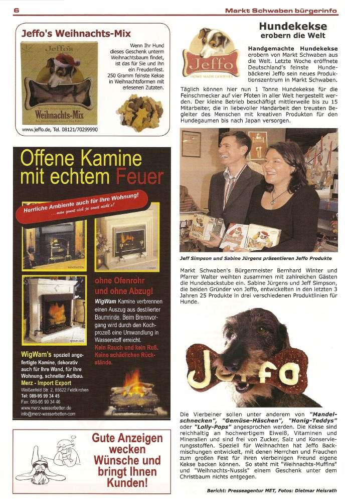 Presseschau Markt Schwaben Bürgerinfo 2007