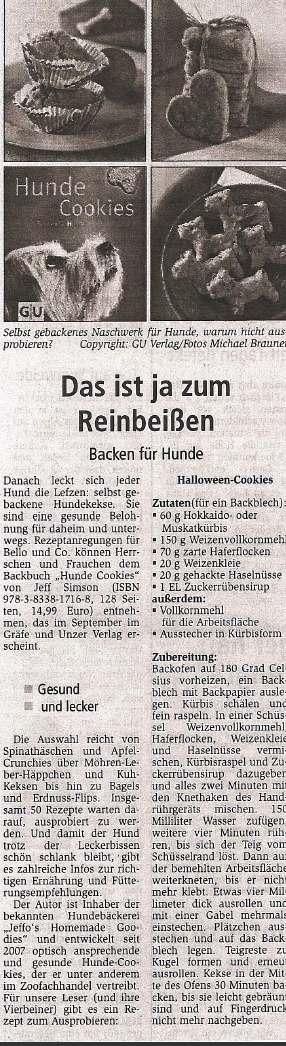 Presseschau Oranienburger Generalanzeiger 11.09.2010