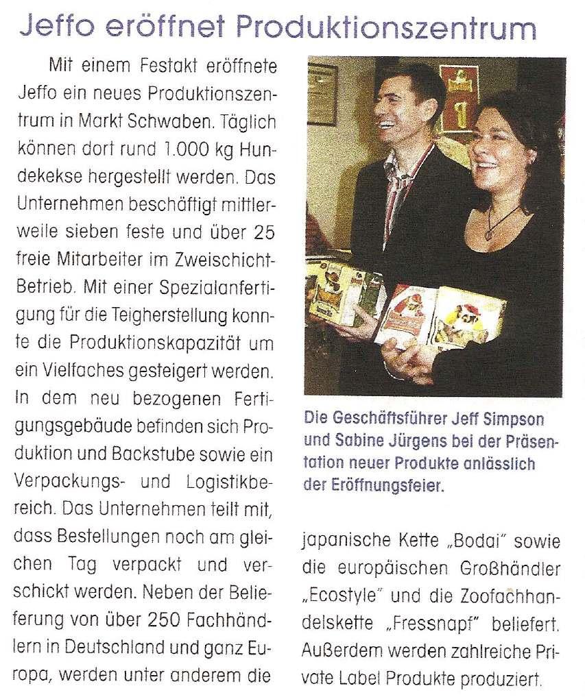 Presseschau PET 12-2007