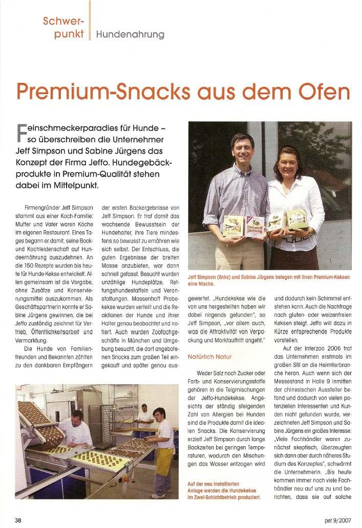 Presseschau PET 09-2007