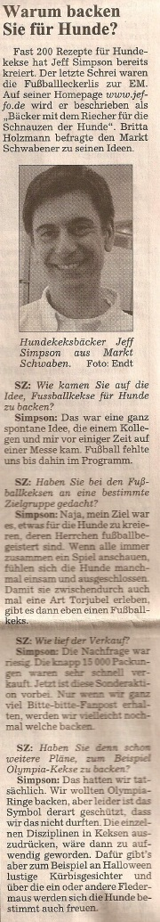 Presseschau Süddeutsche Zeitung EBE 19.06.2008