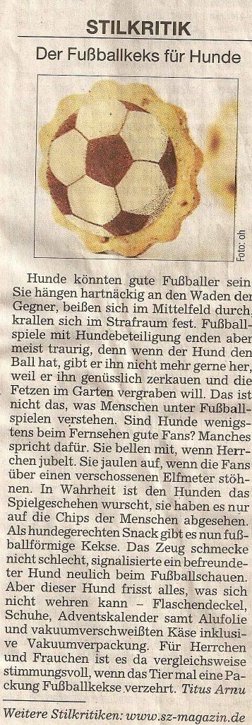 Presseschau Süddeutsche Zeitung Stilkritik