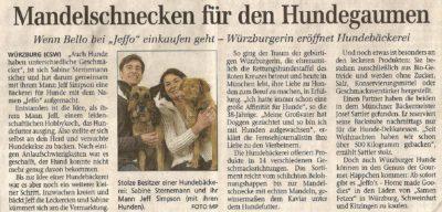 Presseschau Würzburger Neueste Nachrichten 03.05.2005