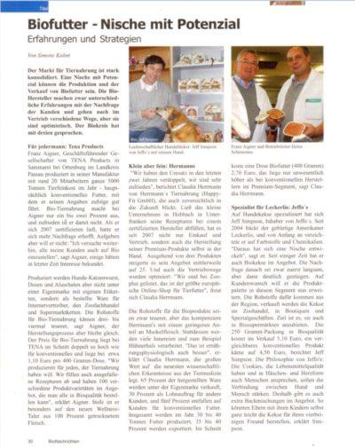 Presseschau BioNachrichten 12-2009