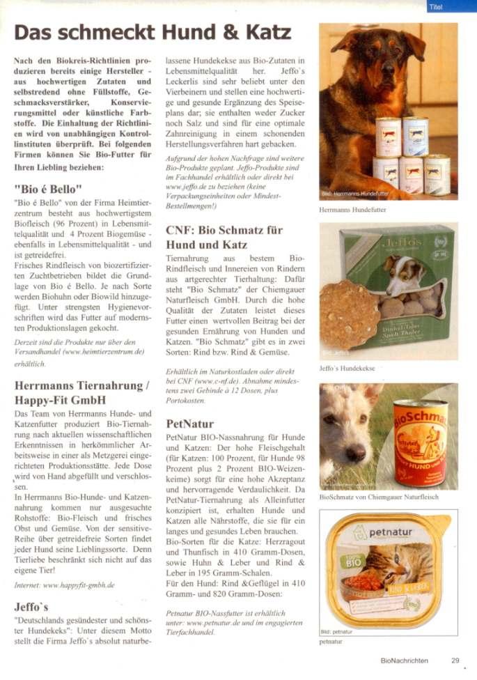 Presseschau BioNachrichten 12-2009 Teil 1