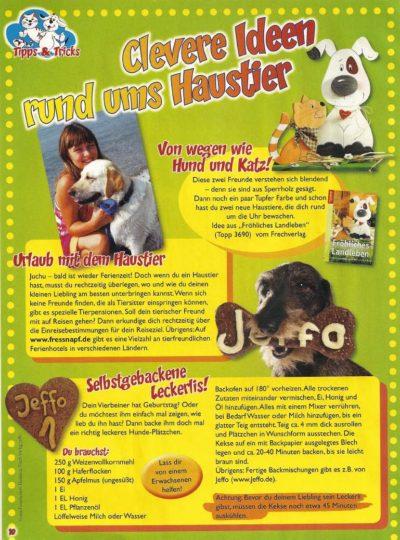 Presseschau Clevere Ideen rund ums Haustier