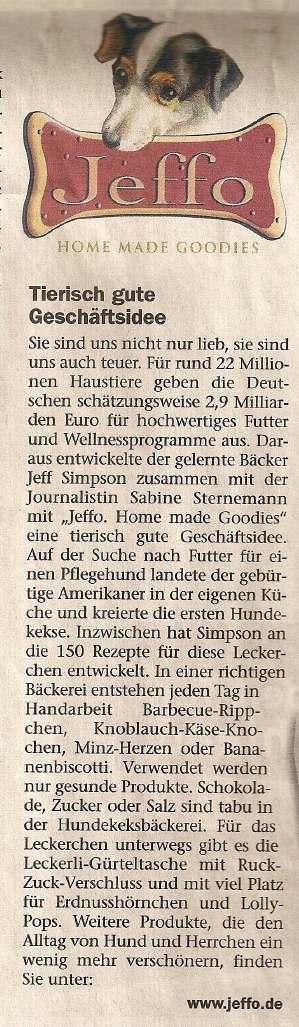 Presseschau Deutsches handwerksblatt 16.06.2005