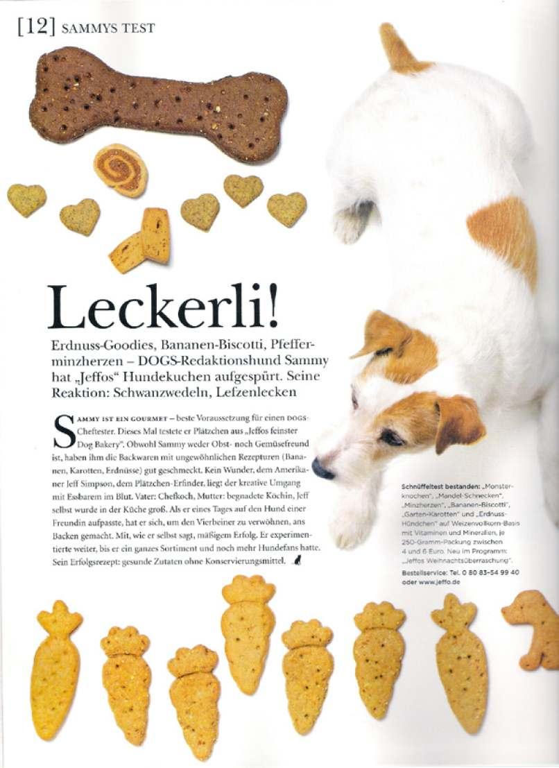 Presseschau DOGS Ausgabe 1
