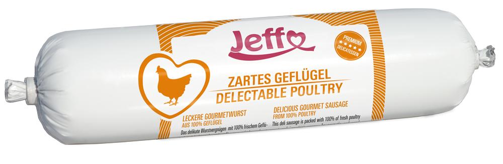 Zartes Geflügel, gesundes Futter für Hunde und Katzen mit viel frischem Geflügel und leckeren Innereien.
