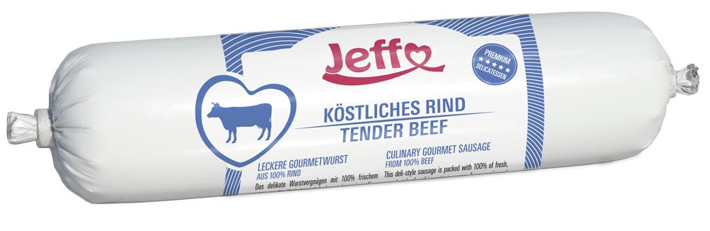 Köstliches Rind, Nahrungsergänzung für Hunde und Katzen mit viel frischem saftigem Rindfleisch und leckeren Innereien