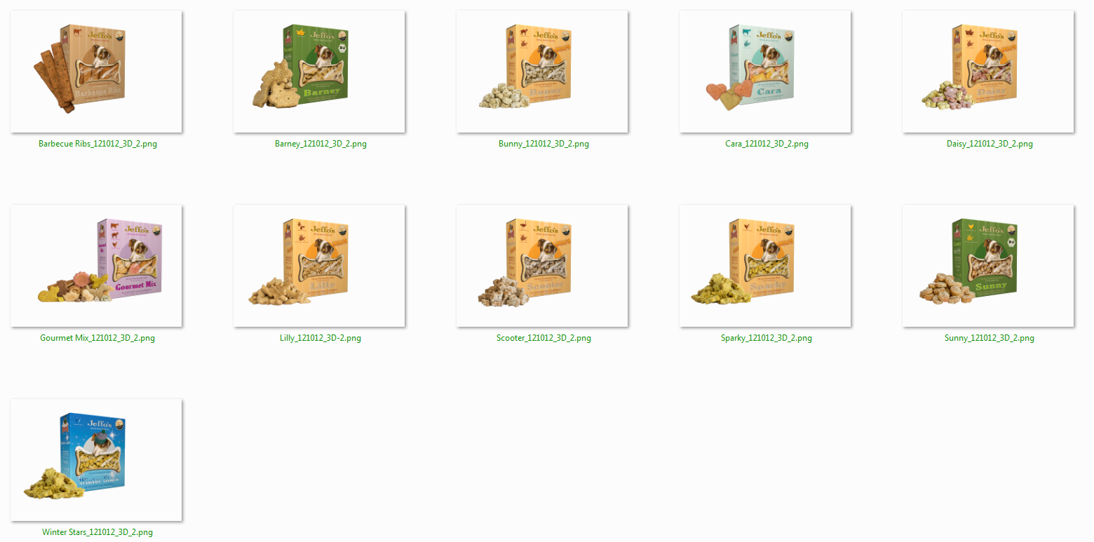 Jeffo Produktrelaunch 2012 umweltfreundliche und kleinere Verpackung